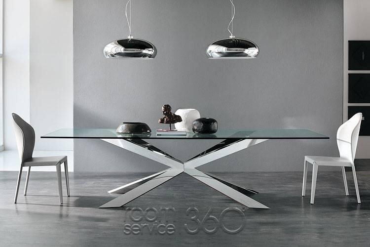 Designer Dining Furniture Stagger 25 Best Ideas About Contemporary Throughout Contemporary Base Dining Tables (Image 9 of 20)
