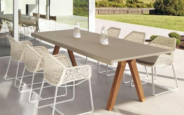 Designer Outdoor Furniture With Style And Sophisticationkettal With Regard To Garden Dining Tables And Chairs (Image 10 of 20)