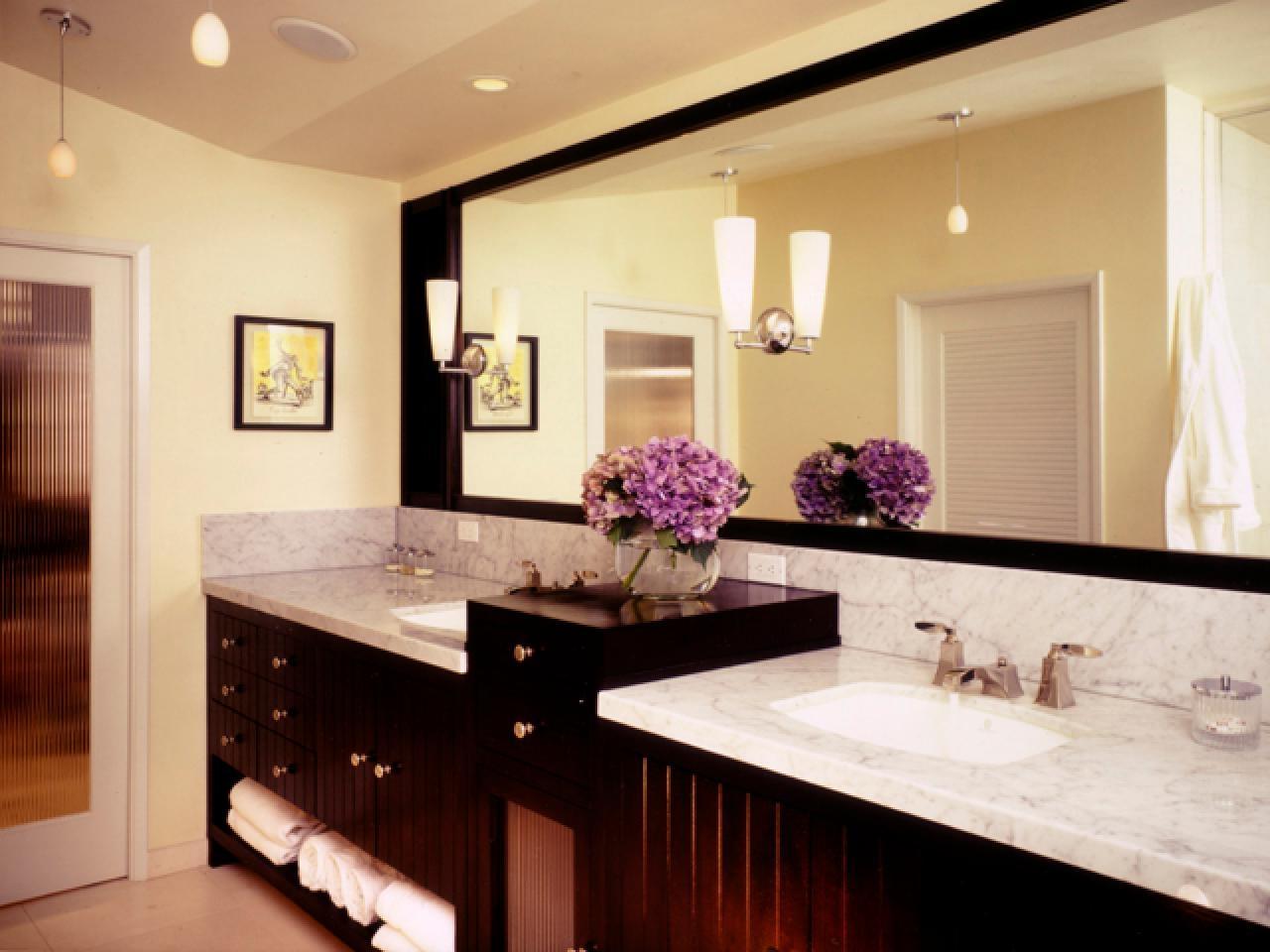 Designing Bathroom Lighting Hgtv Regarding Bathroom Lighting Chandeliers (Image 16 of 25)