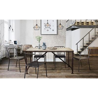 Diamond Sofa Portland Dining Table & Reviews | Wayfair With Portland Dining Tables (View 10 of 20)