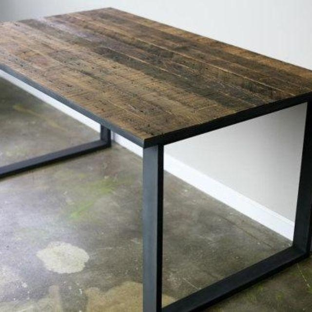 Dining And Kitchen Tables | Farmhouse, Industrial, Modern Pertaining To Industrial Style Dining Tables (Image 9 of 20)