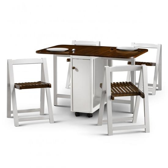 Dining Folding Tables Regarding Compact Folding Dining Tables And Chairs (Image 11 of 20)