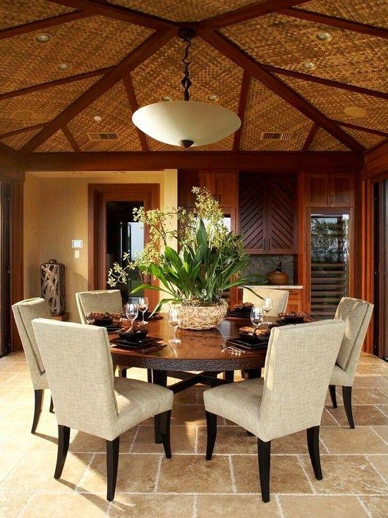 20 Best Collection Of 6 Person Round Dining Tables Dining Room Ideas