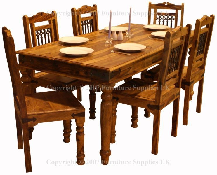 Dining Lovely Reclaimed Wood Dining Table Drop Leaf Dining Table Regarding Sheesham Wood Dining Tables (Image 3 of 20)