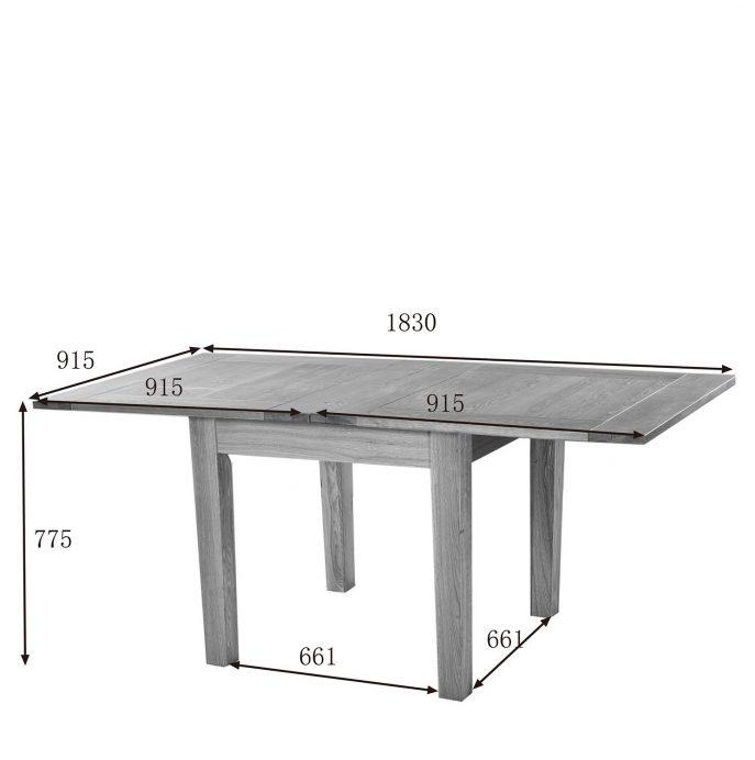 Dining : Perfect Decoration Extendable Square Dining Table Fancy Inside Extendable Square Dining Tables (Image 7 of 20)