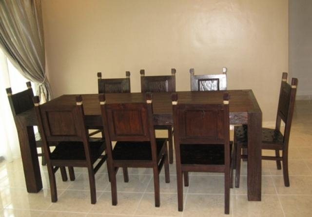 Dining Room 8 Seater Wooden Dining Table Set Room 8 Seater Dining For 8 Seater Dining Table Sets (Image 9 of 20)