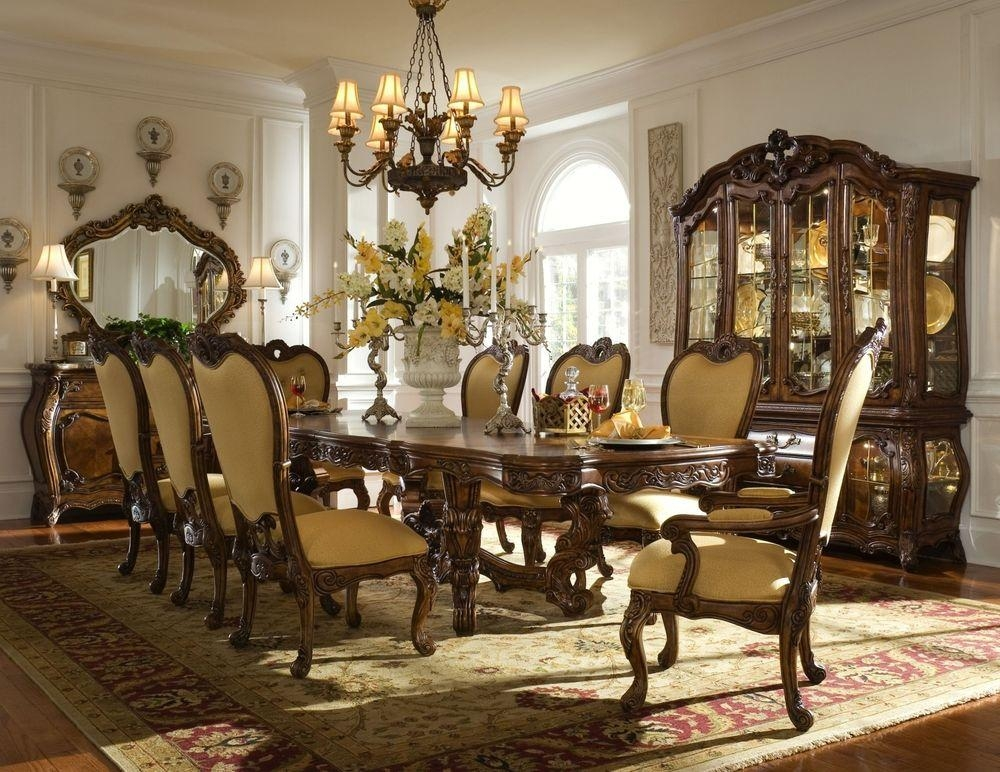 Dining Room : Best Theme Royal Dining Tables And Chairs Dining Inside Royal Dining Tables (Image 7 of 20)