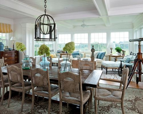 Dining Room Coastal Dining Room Table On Dining Room Within Best Throughout Coastal Dining Tables (Image 14 of 20)