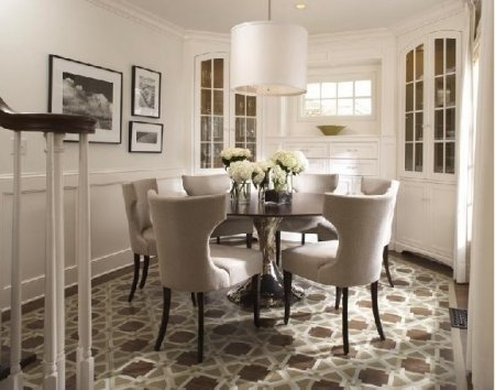 Dining Room Decor Ideas And Showcase Design » Страница 4 Regarding Round 6 Seater Dining Tables (Image 9 of 20)