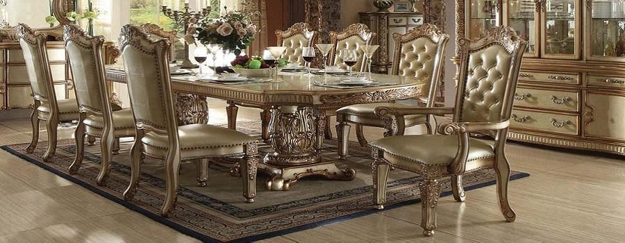 Dining Room Furniture | Dallas | Fort Worth | Carrollton | Regarding Roma Dining Tables And Chairs Sets (Image 5 of 20)