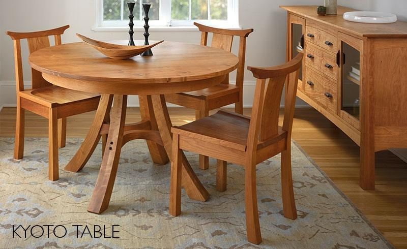 Dining Room Furniture: Handcrafted Wooden Furniture In Portland Dining Tables (Image 8 of 20)
