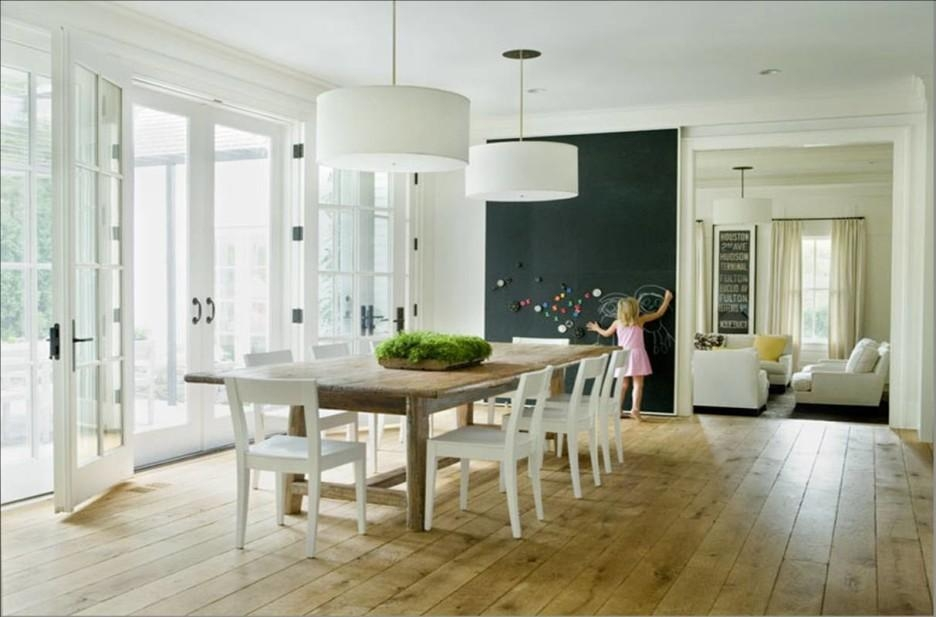 Dining Room Inspiring Dining Room Decoration With Black Inside Dining Tables Ceiling Lights (Image 12 of 20)