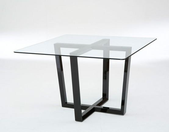 Dining Room Pedestal For Glass Top Table Idea Round Base Bases Intended For Contemporary Base Dining Tables (Image 11 of 20)