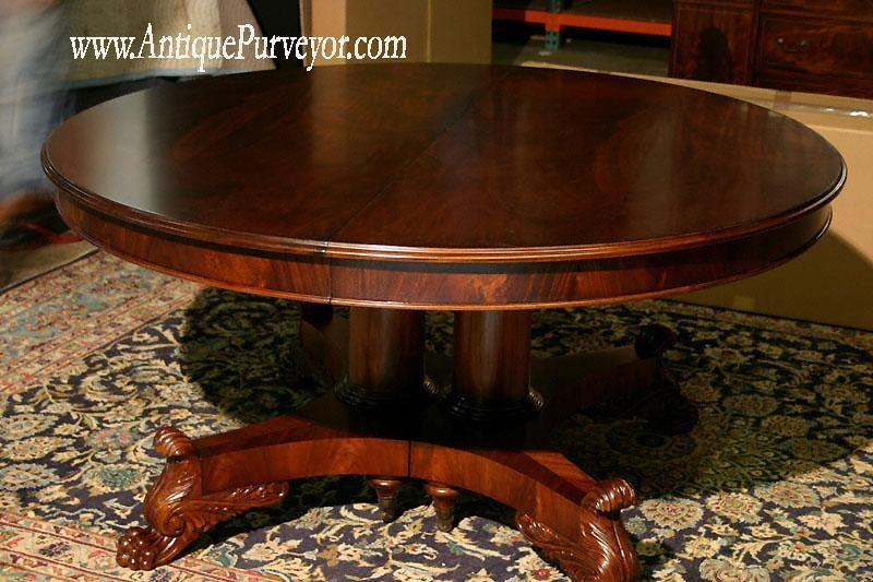 Dining Room Pedestal Tables For Sale Decor Double Table Round Oak Inside Oval Dining Tables For Sale (Image 8 of 20)