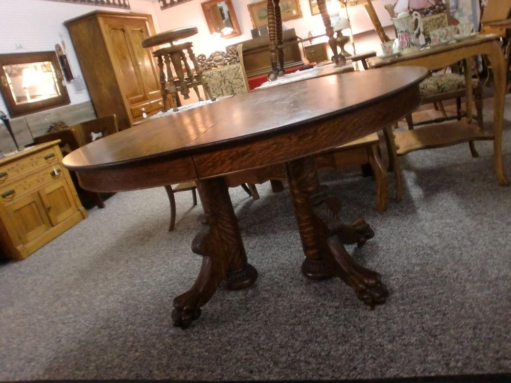 Dining Room Pedestal Tables For Sale Decor Double Table Round Oak With Oval Dining Tables For Sale (Image 10 of 20)
