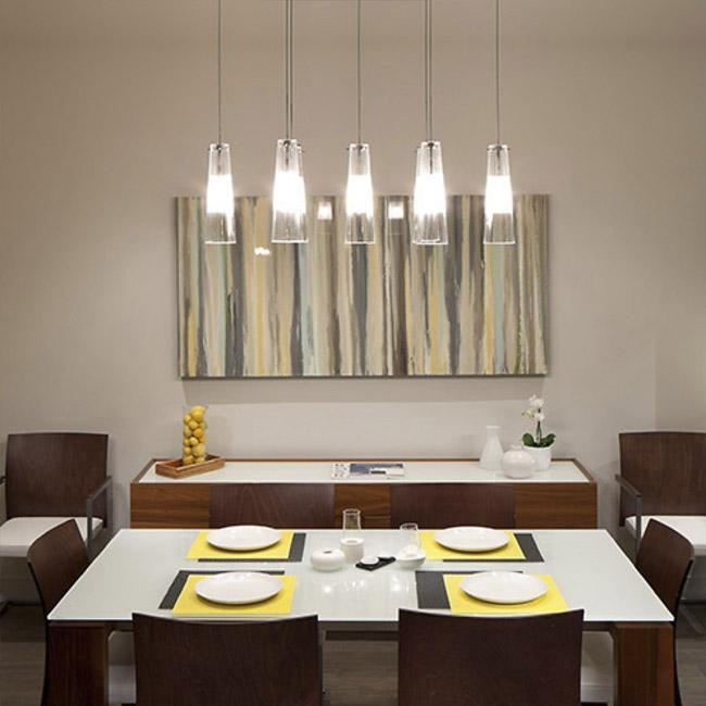 Dining Room Pendant Lighting Ideas & Advice At Lumens Inside Dining Lights Above Dining Tables (Image 5 of 20)