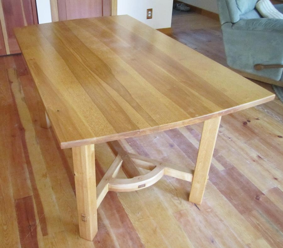 Dining Room – Selkirk Craftsman Furniture In Sandpoint, Idaho Intended For Birch Dining Tables (Image 5 of 20)