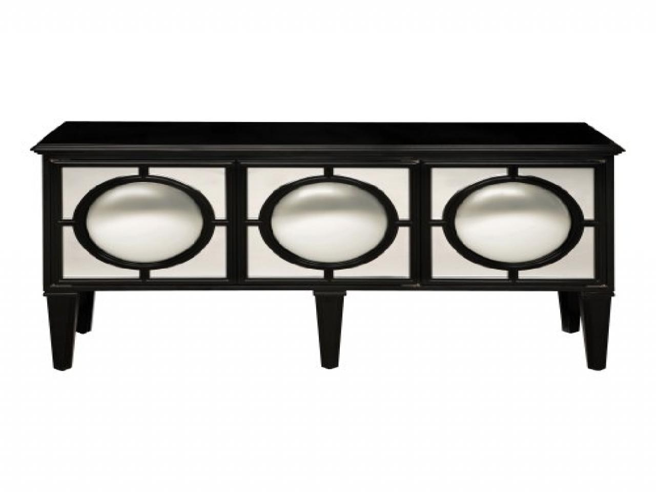 Dining Room Slipcovers, Mirrored Chest Or Cabinet Black Circles In Black Mirrored Cabinet (Image 9 of 20)