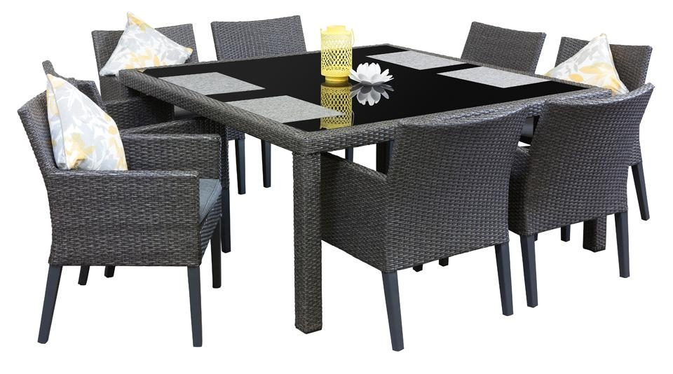 Dining Room Square Outdoor Dining Table On Dining Room With Regard For 8 Seat Outdoor Dining Tables (Image 6 of 20)