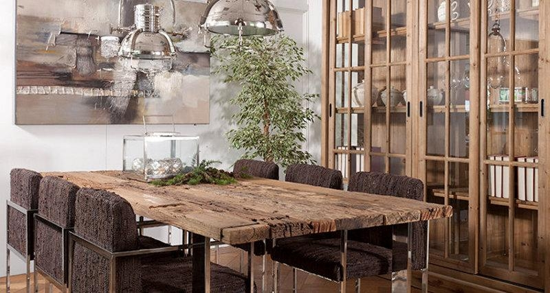 Dining Room Table | Creative Mind For Railway Dining Tables (Image 9 of 20)