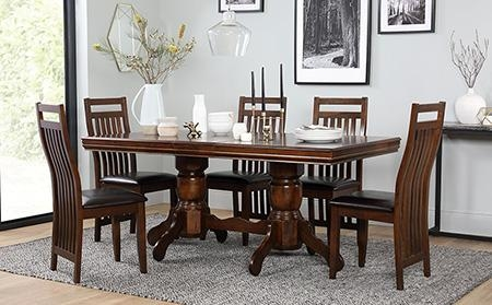 Dining Table & 6 Chairs – Fast Free Delivery | Furniture Choice With Regard To Dining Table Sets With 6 Chairs (Image 12 of 20)