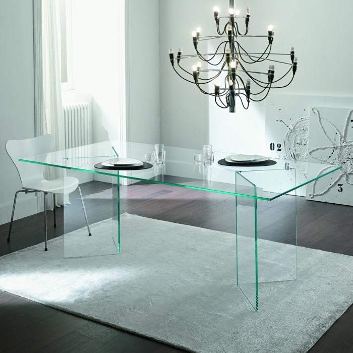 Dining Table, All Glass Dining Table | Pythonet Home Furniture Inside Glass Dining Tables (View 13 of 20)