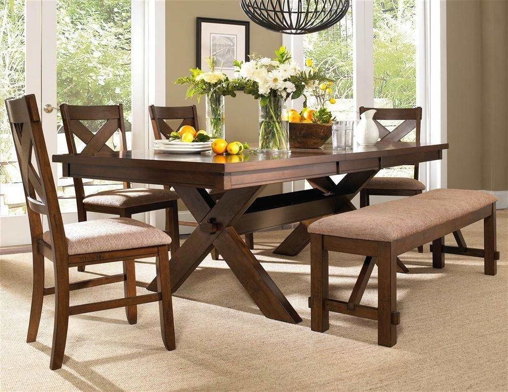 Dining Table Bench Seat – Lakecountrykeys With Regard To Dining Tables Bench Seat With Back (View 13 of 20)