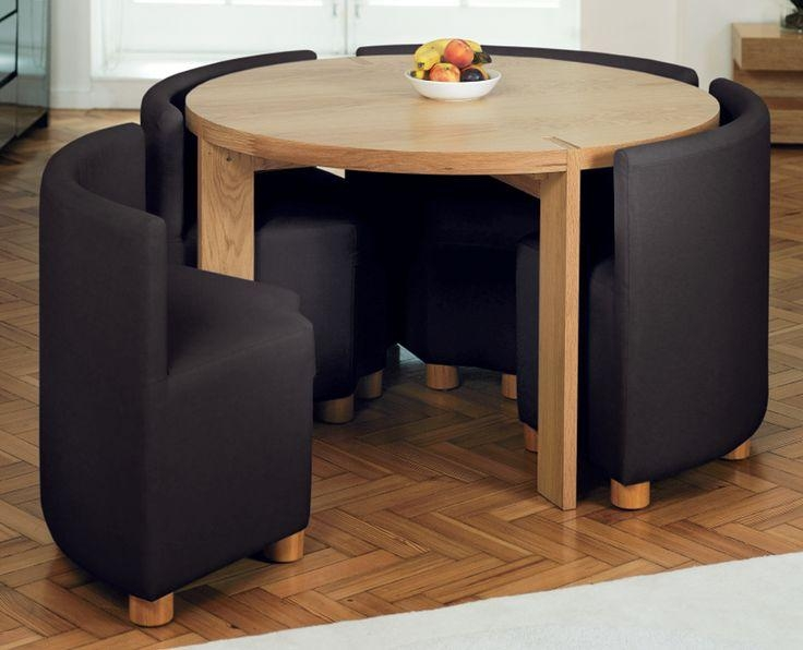 Dining Table, Compact Dining Table And Chairs | Pythonet Home Regarding Compact Dining Tables (Image 14 of 20)