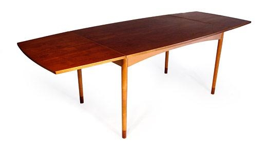 Dining Table, Danish Teak Dining Table | Pythonet Home Furniture Within Danish Dining Tables (View 6 of 20)
