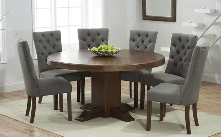 Dining Table, Dark Wood Round Dining Table | Pythonet Home Furniture In Dark Wooden Dining Tables (View 7 of 20)