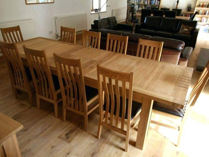 Dining Table: Dining Table 10 Chairs (View 8 of 20)