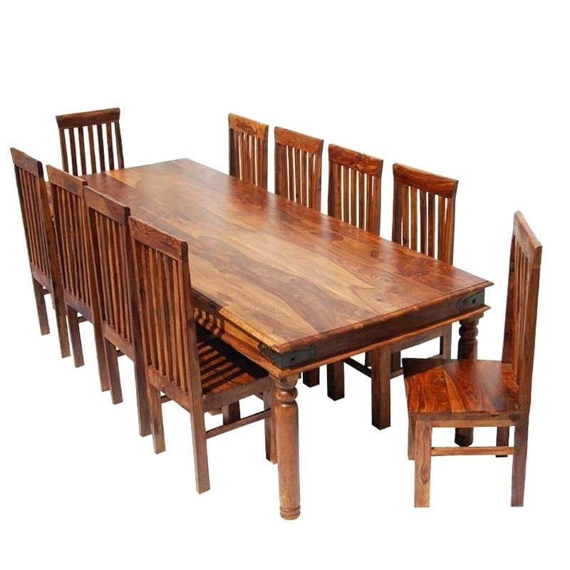 Dining Table: Dining Table 10 Chairs (View 5 of 20)