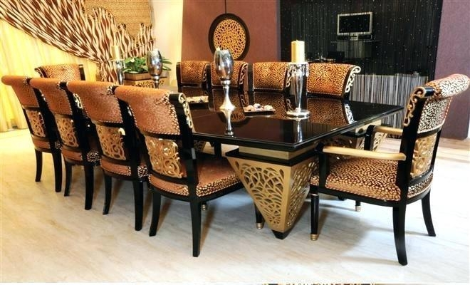 Dining Table ~ Glass Dining Table 10 Chairs Dining Table 10 Chairs Pertaining To 10 Seater Dining Tables And Chairs (Image 14 of 20)