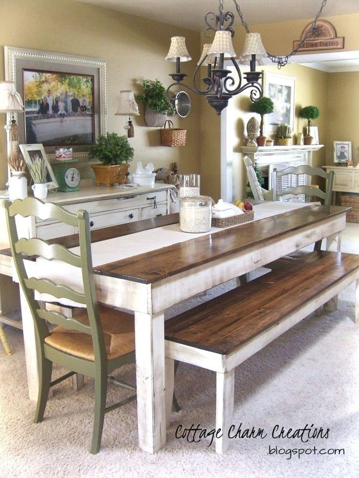 Dining Table ~ Heres A Really Classy At A Picnic Table Finished With Indoor Picnic Style Dining Tables (View 13 of 20)