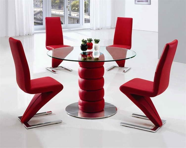 Dining Table, Red Dining Room Table | Pythonet Home Furniture Inside Red Dining Tables And Chairs (Image 9 of 20)