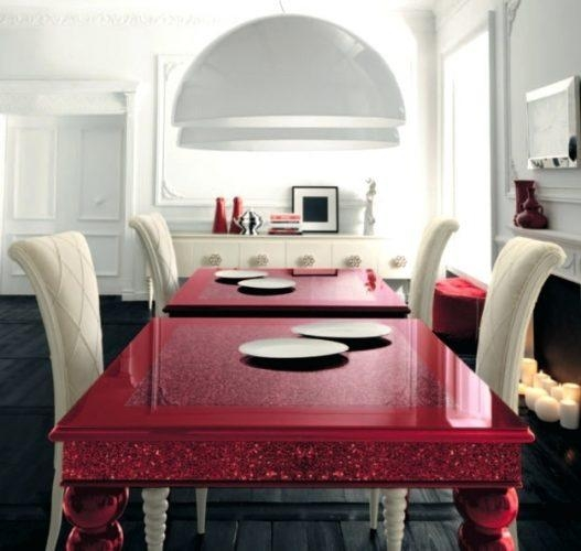 Dining Table ~ Red Dining Table Ideas Diy Red Kitchen Table I Love For Red Dining Table Sets (View 7 of 20)
