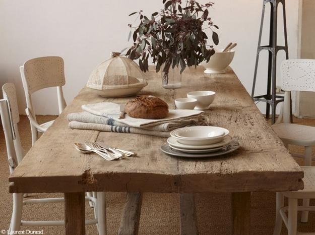 Dining Table, Rustic Wood Dining Room Tables | Pythonet Home Furniture Intended For Rustic Dining Tables (Image 9 of 20)
