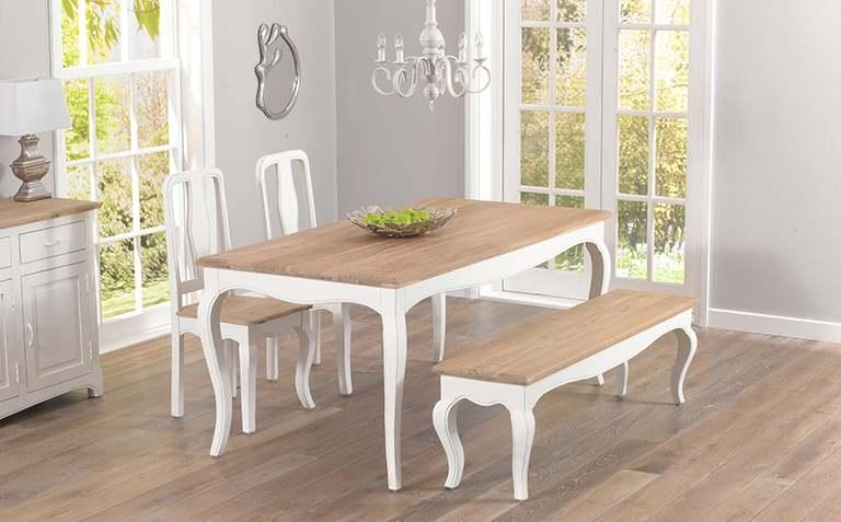 Dining Table Sets | The Great Furniture Trading Company Within Shabby Chic Cream Dining Tables And Chairs (Image 15 of 20)