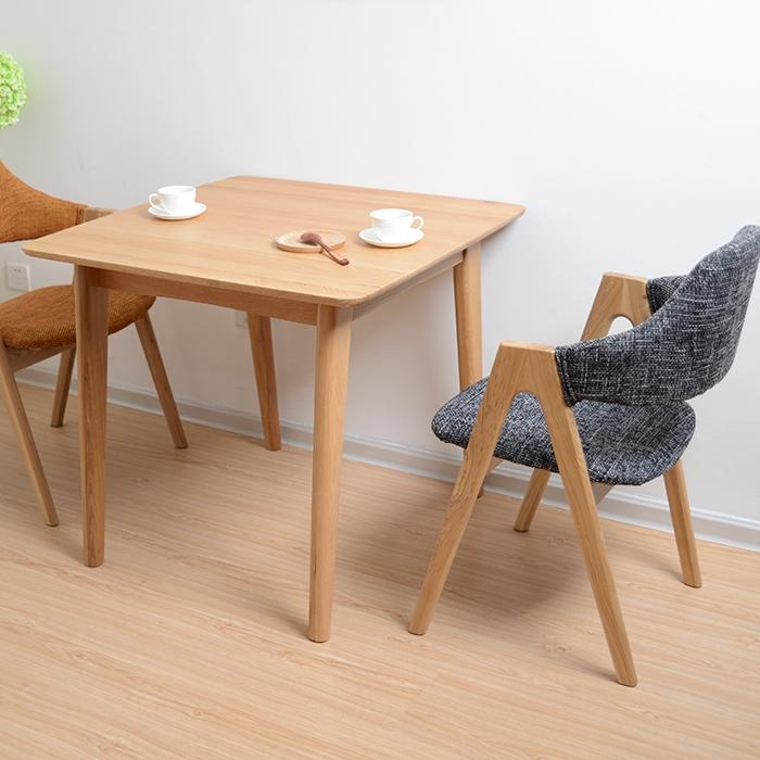 Dining Table, Small Wood Dining Table | Pythonet Home Furniture Intended For Small Oak Dining Tables (Image 4 of 20)