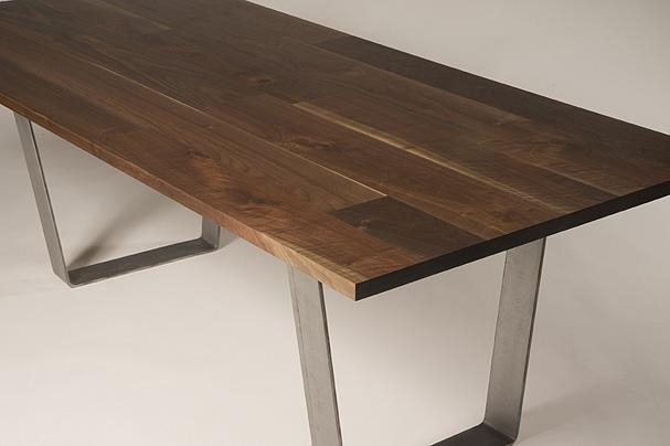 Dining Table, Solid Walnut Dining Table | Pythonet Home Furniture Inside Walnut Dining Tables (Image 10 of 20)