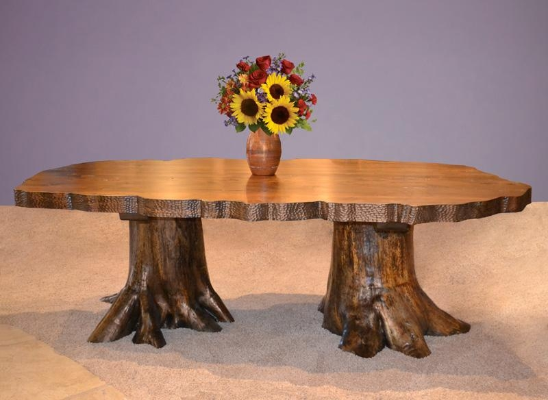 Dining Table, Tree Stump Dining Table | Pythonet Home Furniture In Tree Dining Tables (Image 7 of 20)