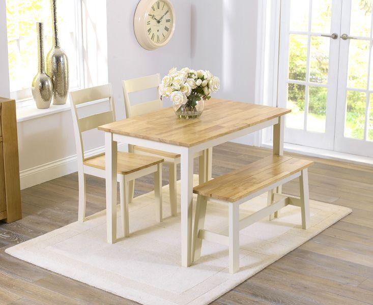 Dining Table With 2 Benches » Gallery Dining Inside Dining Tables And 2 Benches (View 3 of 20)