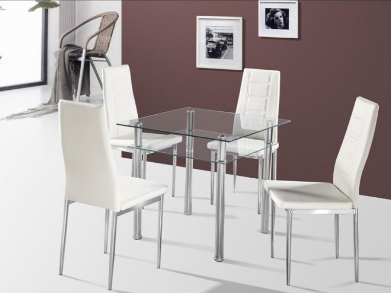 Dining Table With Clear Glass Within Como Dining Tables (Image 15 of 20)