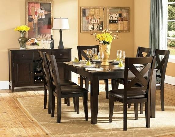 Dining Table With Six Chairs For $650 In Dfw Metroplex Regarding Dining Tables And Six Chairs (Image 9 of 20)