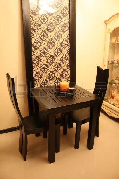 Dining Table With Two Chairs | Ciov In Two Seater Dining Tables And Chairs (Image 10 of 20)