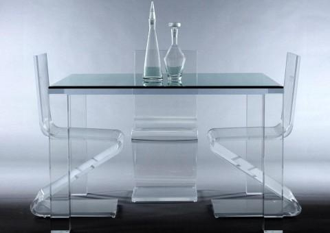 Dining Tables Archives – Custom Contemporary Furniture, Lighting With Regard To Acrylic Dining Tables (Image 18 of 20)