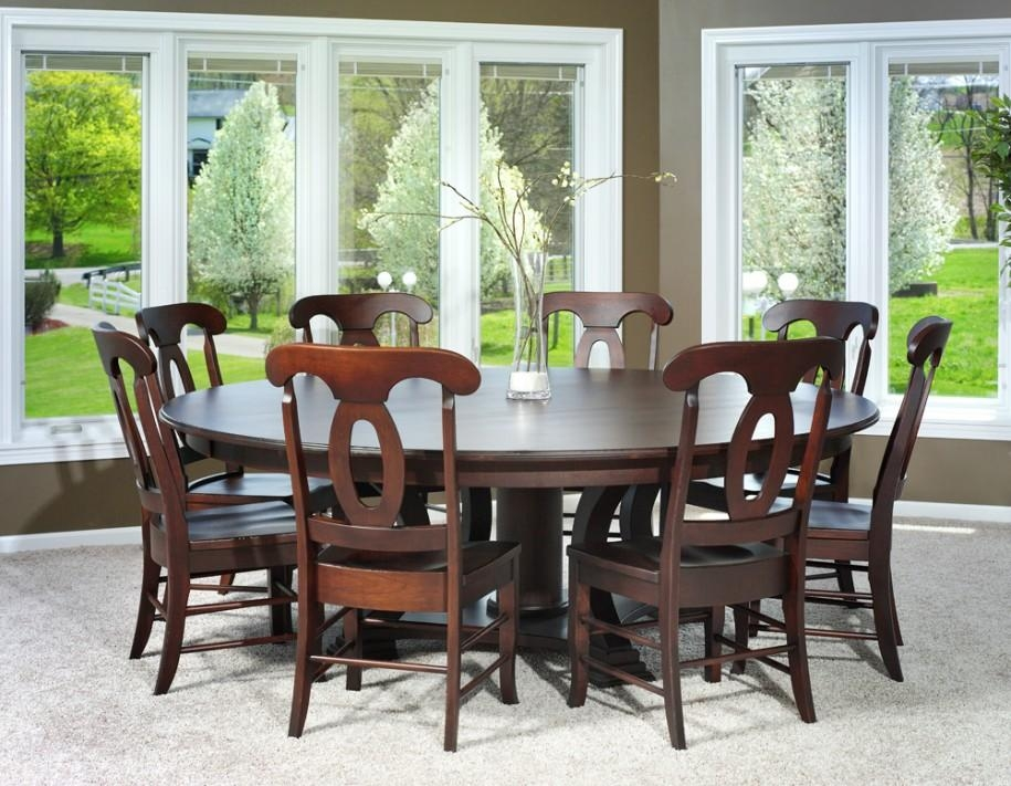 Dining Tables: Elegant Round Dining Table Set For 6 6 Person Round Intended For Round 6 Person Dining Tables (Image 10 of 20)