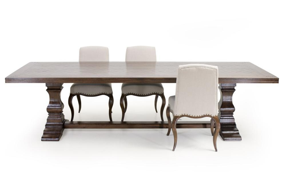 Dining Tables | Furniture | Herringbone Dining Table (Image 15 of 20)