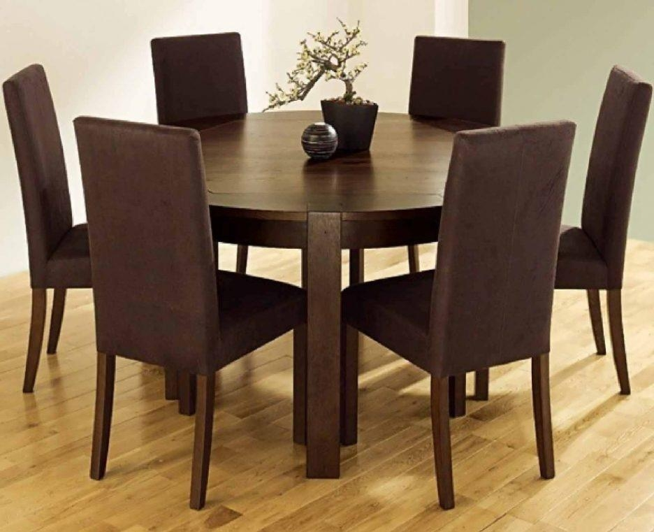 Dining Tables : Round Dining Table Set For 8 6 Person Round Dining Regarding Round 6 Person Dining Tables (Image 9 of 20)