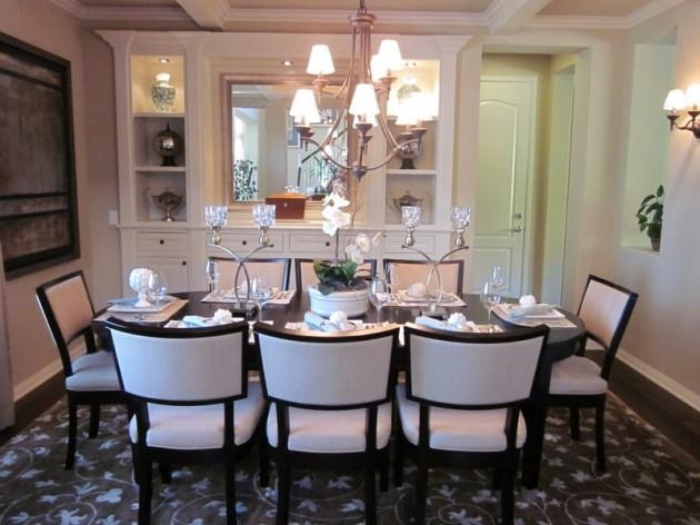 Dining Tables To Suit The Room Regarding Eight Seater Dining Tables And Chairs (Image 14 of 20)